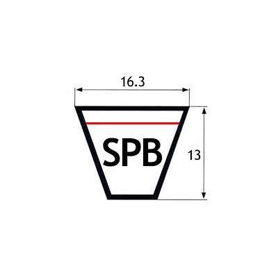 """CINGHIE SEZIONE """"SPB"""" 16,3X16mm"""